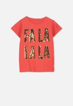 Cotton On - Anna short sleeve tee - red