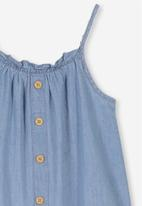 Cotton On - Lettie dress - blue