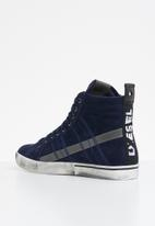 Diesel  - D-velows mid lace - peacoat blue