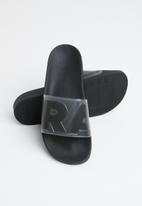 G-Star RAW - Cart slide ii transparent wmn - black