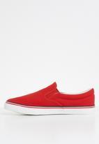 Brave Soul - Skater Slipon- red