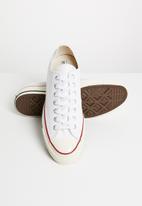 Converse - Chuck 70 - ox canvas - white/garnet/egret