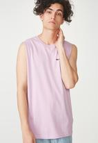 Cotton On - Tbar muscle tank - purple