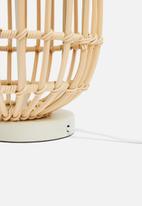 Sixth Floor - Woven table lamp