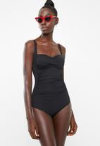 Billabong  - Sol searcher wrap one piece - black