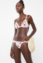 PIHA - Ruffle trim bikini top - multi