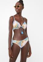 PIHA - Adjustable side bikini bottoms - blue