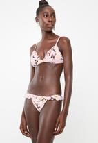 PIHA - Ruffle rio bikini bottoms - pink