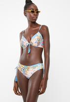 PIHA - Slim tie bikini top - multi