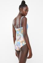PIHA - Twin strap swimsuit - multi