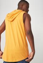 Cotton On - Hustle muscle tank - orange