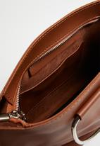 Joy Collectables - Handbag with strap detail - tan