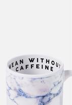 Typo - Anytime mug mean without caffeine - white