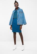 Vero Moda - Shane sleeveless short dress - blue