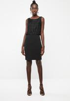 Vero Moda - Shane sleeveless short dress - black