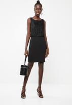 Vero Moda - Shane sleeveless short dress - black