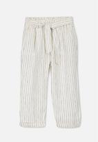 Cotton On - Miko pant - stripe white