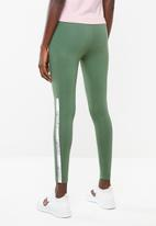 PUMA - Tape leggings - green