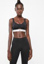 Adidas - Stronger soft training sports training bra - black