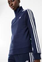 adidas Originals - Graphic zipped sweatshirt - navy