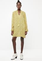 Superbalist - Peasant dress - yellow