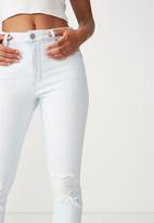 Cotton On - High rise 90's stretch jean - blue