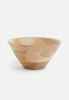 Sixth Floor - Shani wooden bowl
