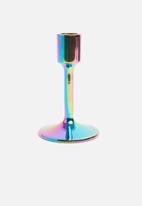 Sixth Floor - Rainbow candle holder - multi