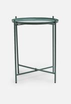 Sixth Floor - Dianara tray table - green