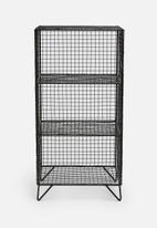Sixth Floor - Meshy 3-tier storage unit