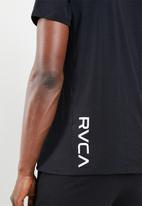 RVCA - Va vent short sleeve top  - black