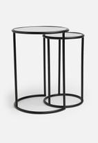Sixth Floor - Uma mirror tables set of 2