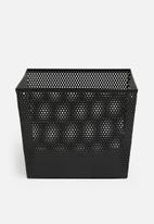 Sixth Floor - Aren storage basket - black