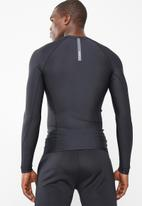 RVCA - Compression long sleeve crew - black