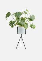 Sixth Floor - Bahati planter - white