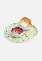 Sixth Floor - Fruity bowls set of 3 - multi
