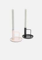 Sixth Floor - Eshe candle holder - pink