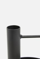 Sixth Floor - Eshe candle holder - black