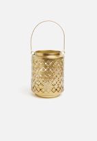 Sixth Floor - Zafara lantern - gold