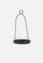 Sixth Floor - Neema lantern - black