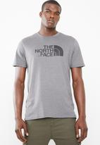 The North Face - Short sleeve easy tee - charcoal