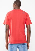 The North Face - Short sleeve easy tee - red