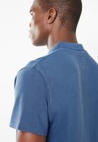 Lizzard - Casual golfer tee - blue
