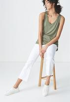 Cotton On - Marissa sleeveless tank top - khaki