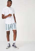 Cotton On - Washed chino short - multi