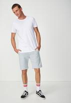 Cotton On - Washed chino short - blue