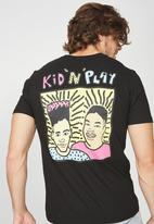 Cotton On - Kid n play t-bar collaboration tee - black