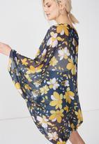 Cotton On - Trixy cocoon kimono - multi