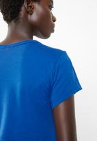 G-Star RAW - Graphic 4 slim tee - blue
