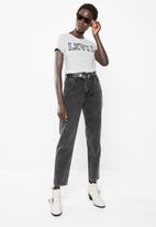 Levi's® - Mom jeans - charcoal